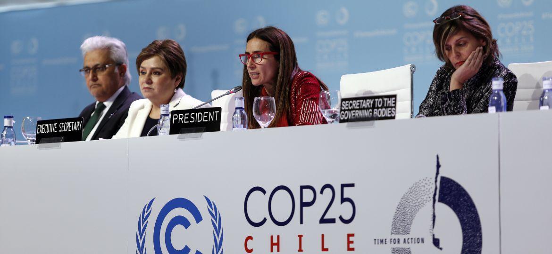 Dia 8 COP25, cumbre mundial por el medio Ambiente Chile-Madrid 2019