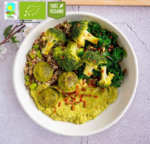 Faláfel green bowl